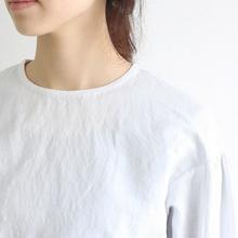 Round cuff blouse