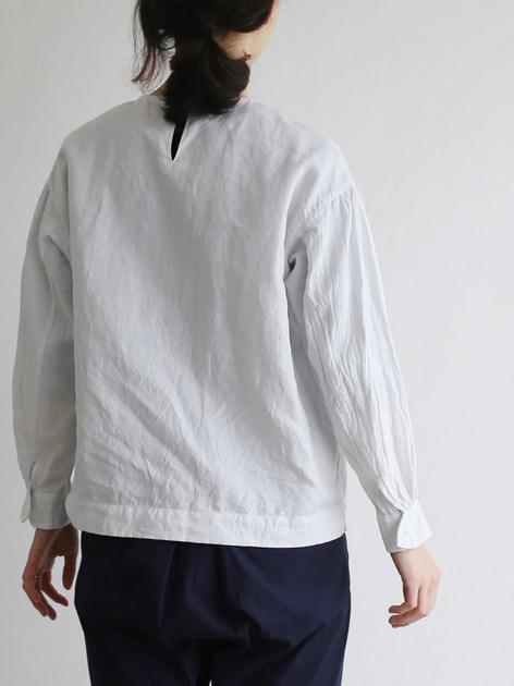 Round cuff blouse 5