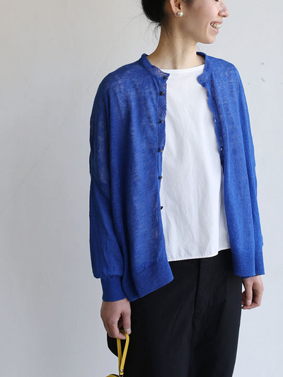 Balloon cardigan~blue 2