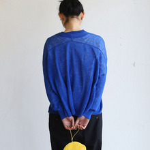 Balloon cardigan~blue