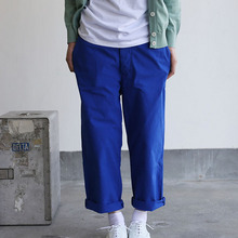 Men's cropped pants~blue