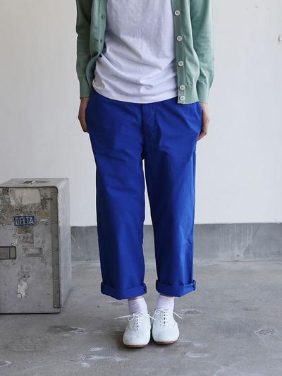Men's cropped pants~blue 1