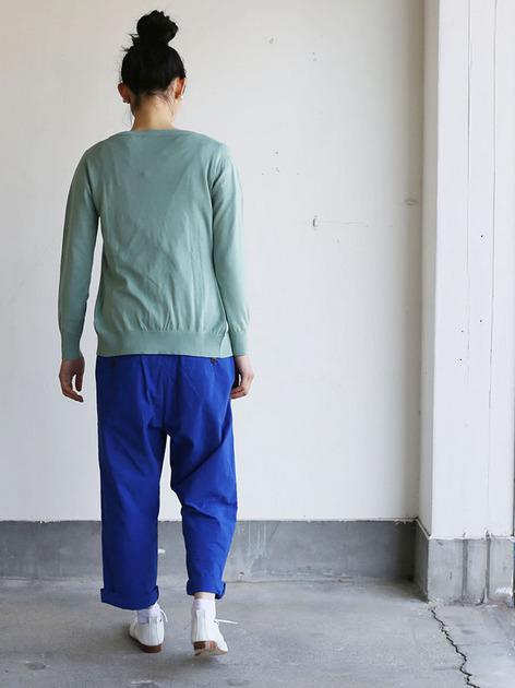 Men's cropped pants~blue 4