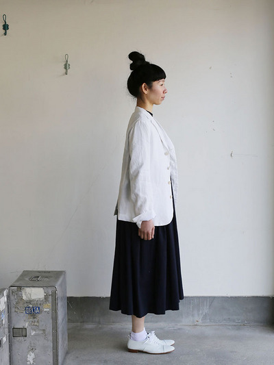 Old tailored jacket Ⅱ~high count fine hemp 3