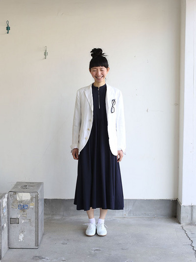 Old tailored jacket Ⅱ~high count fine hemp 1