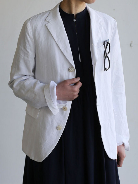 Old tailored jacket Ⅱ~high count fine hemp 4