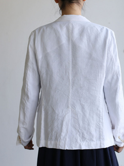 Old tailored jacket Ⅱ~high count fine hemp 5