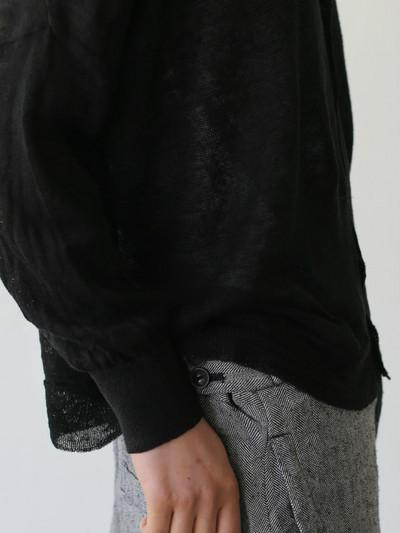 Balloon cardigan~black 3