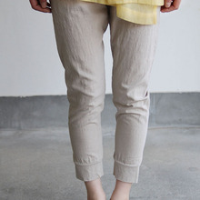 Indian military blouse / Woven leggins short~linen