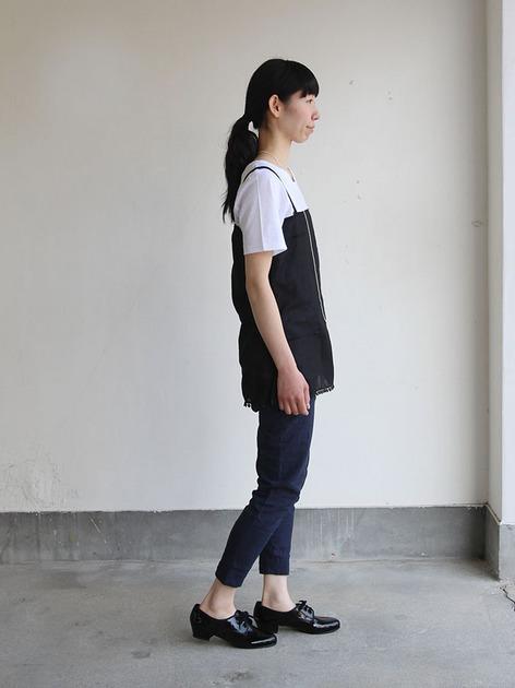 Dart camisole/ Woven leggins short 3