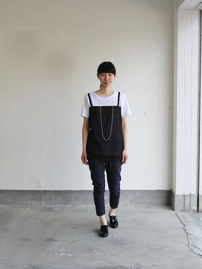 Dart camisole/ Woven leggins short 1
