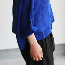 Big slip on blouse short/Draw string sarrouel pants