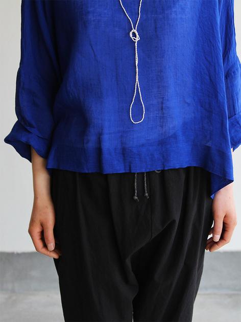 Big slip on blouse short/Draw string sarrouel pants 5