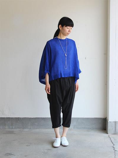 Big slip on blouse short/Draw string sarrouel pants 2