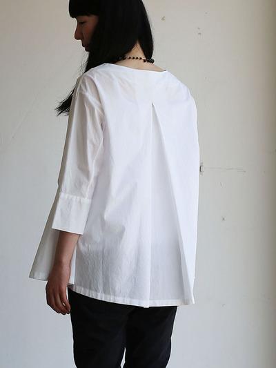 Big tuck blouse/Woven leggins short 4