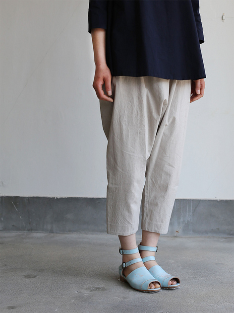 Big tuck blouse/Draw string sarrouel pants 2