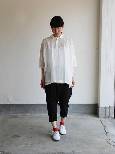 Pull over big shirt / Draw string sarrouel pants 4