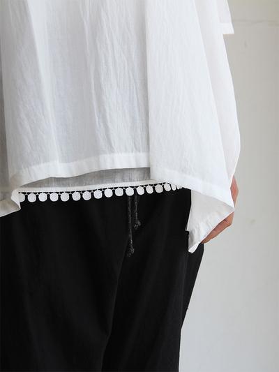 Pull over big shirt / Draw string sarrouel pants 1