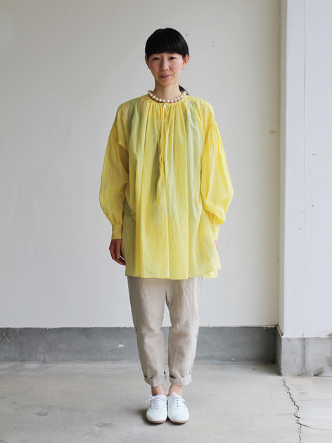 Super gather blouse / MOP pants 2