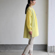 Super gather blouse / MOP pants