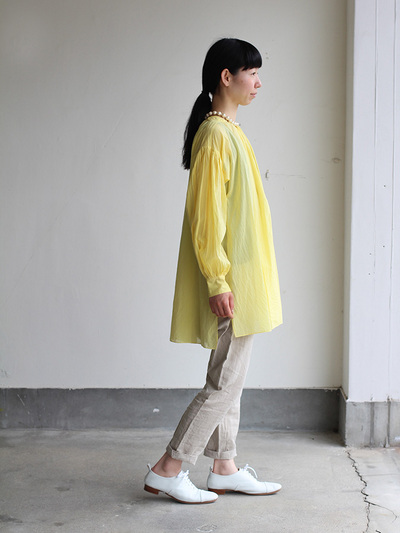 Super gather blouse / MOP pants 1