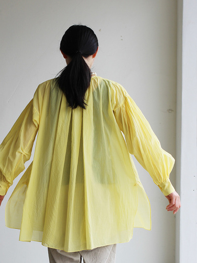 Super gather blouse / MOP pants 3