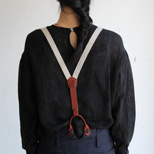 Men's tapered pants/Suspender