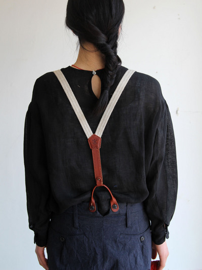 Men's tapered pants/Suspender 1