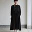 Gather bottom big dress~fine lawn washer(black) 2