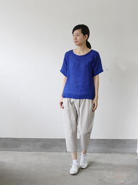 Big T-shirt 2~linen 2