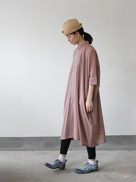 Pull over big shirt dress 4