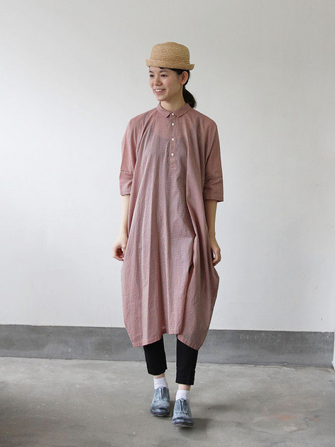 Pull over big shirt dress 2