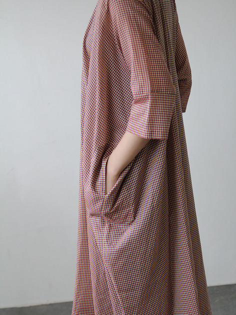 Pull over big shirt dress 3