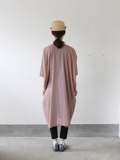 Pull over big shirt dress 5
