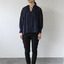String gather blouse short~ramie 2