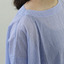 Short sleeve tent line blouse~cotton/Short Chinos 4