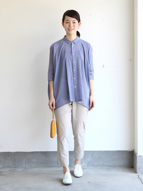 Big shirt/Easy tapered pants~cotton 2