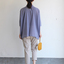 Big shirt/Easy tapered pants~cotton 3