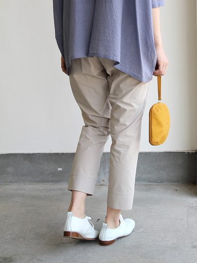 Big shirt/Easy tapered pants~cotton 4