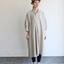 Stand collar big tunic dress/Woven leggins short 2