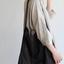 Stand collar big tunic dress/Woven leggins short 5