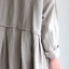 Tuck braid jacket / Gather bottom big dress~fine lawn washer(navy) 5