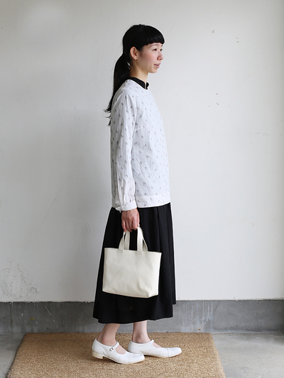 Little blouse / Gather bottom big dress / Laundry bag S 2