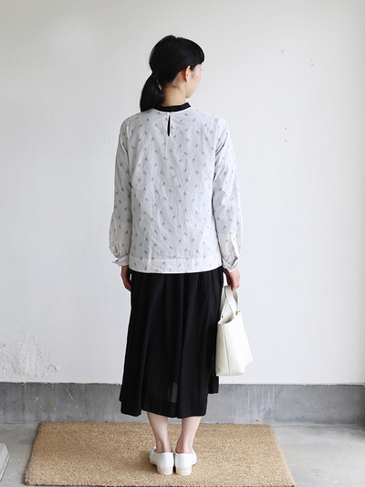 Little blouse / Gather bottom big dress / Laundry bag S 3