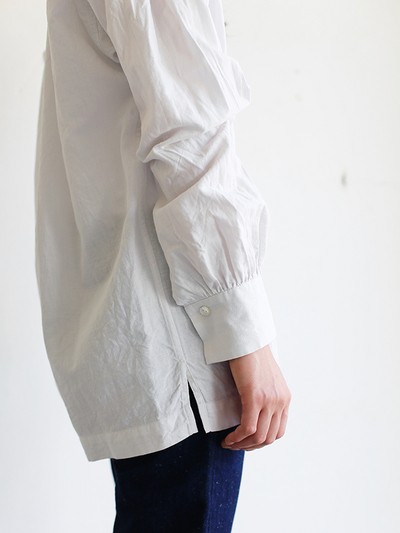Skinny string gather blouse / SP slim 5pocket pants  5