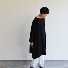 Dolman tunic~wool / SP slim 5pocket pants