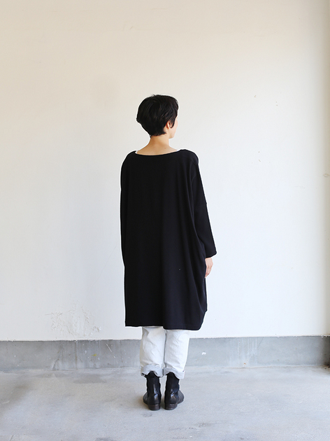 Dolman tunic~wool / SP slim 5pocket pants  3
