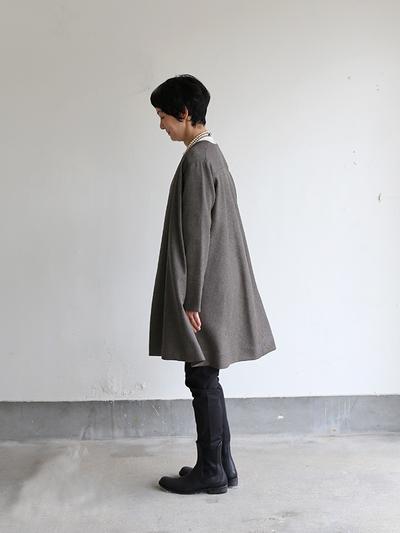 Trapeze long jacket 3