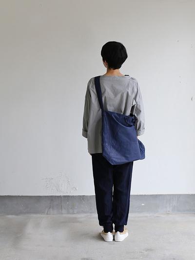 Stand collar box shirt~clove gray 4