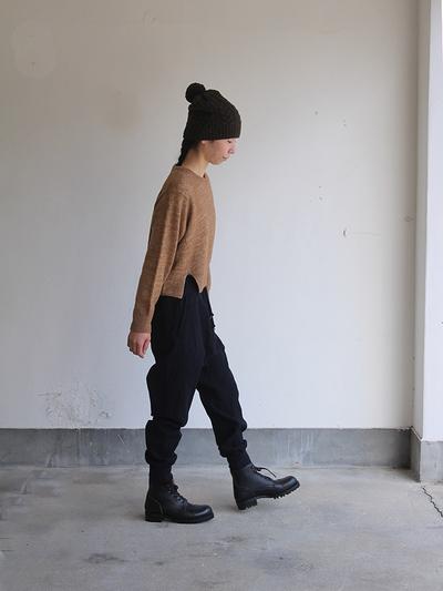 Bonbon knit cap / Uncle sarrouel pantsⅡ  1